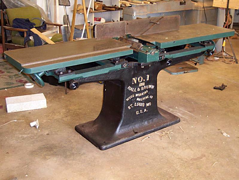 "Hall and Brown 12"" jointer restoration - Power and Hand Tools ..."